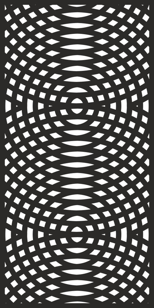 Decorative Screen Pattern for CNC Laser Free Vector