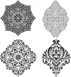 Decor Vector Set Free Vector