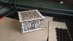 Decor Box Laser Cut Free Vector