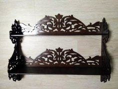 Decorated Shelf Laser Cut 6 Mm Free Vector