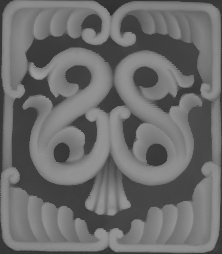 3D Grayscale Image 92 BMP File