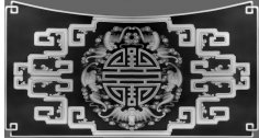 3D Grayscale Image 116 BMP File