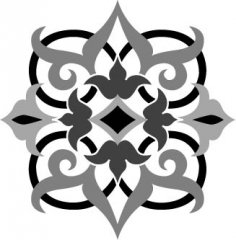 Arabesque Ornate Vector Free Vector
