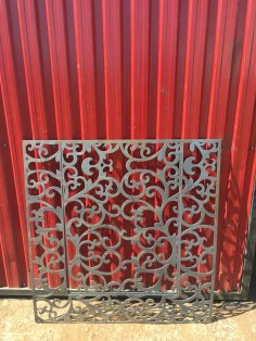 Laser Cut Jali Design Pattern DXF File