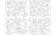 TRITOPS Animal DXF File