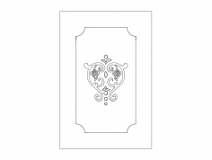 Patterns for Door dxf File