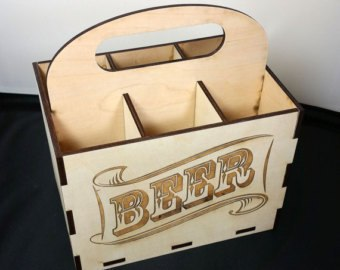 6 Pack Beer Holder Free Vector