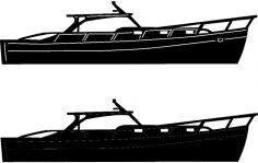 Boats And Ships 4 dxf File