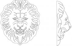Lion 3 dxf File
