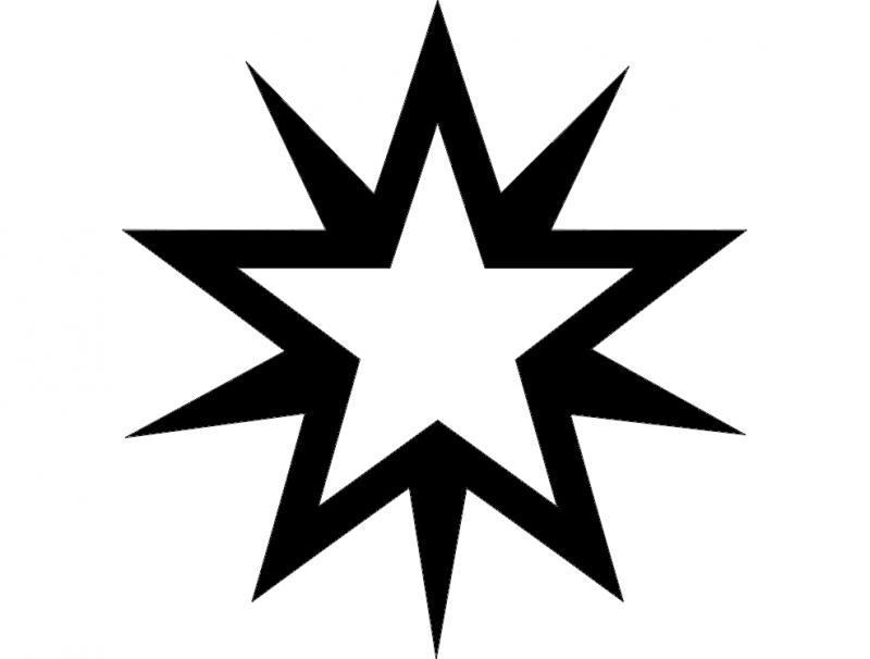 Starburstwt dxf File