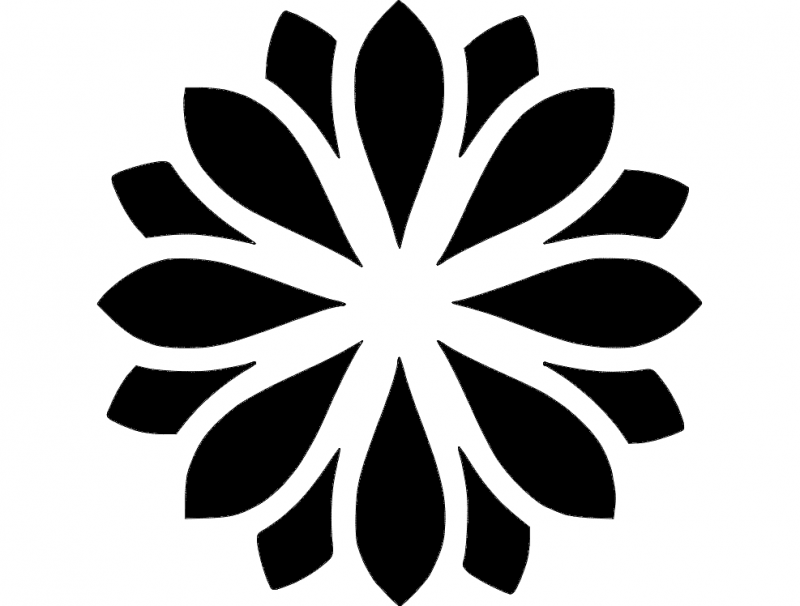 Zen Flower Dxf File Free Download 3axis Co