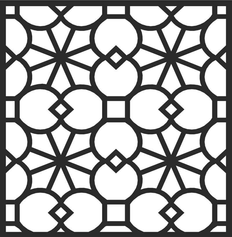 Ornamental Patterns 5 dxf file