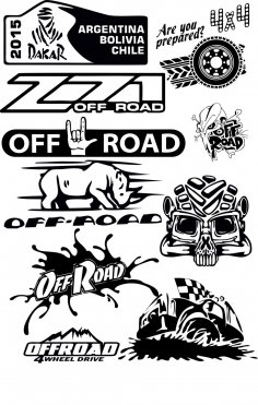 Offroad Vector Pack Free Vector