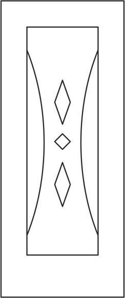Door Panel Design Vector Free Vector