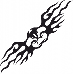 Tattoo Tribal Vector Design Free Vector
