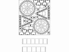 Ferris Wheel 3D dxf File