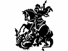 Saint George dxf File