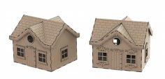 House Box Laser Cut