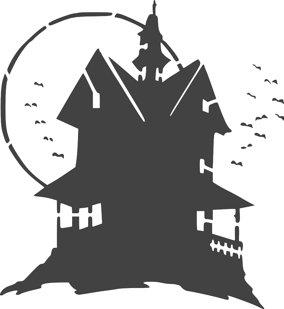 Haunted House DXF File