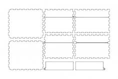 Hingedbox dxf File