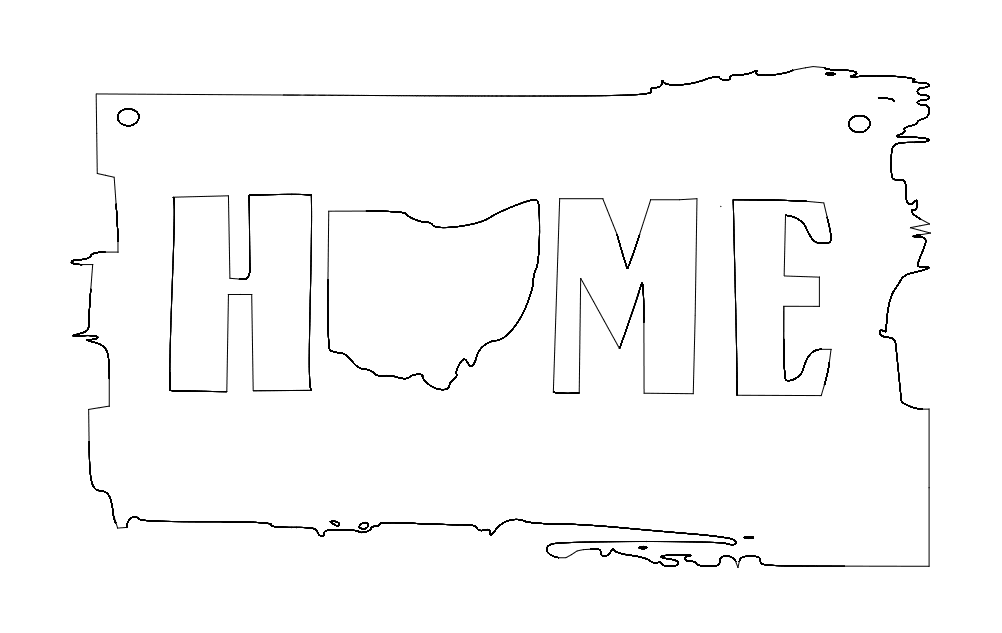 Ohio Home dxf File