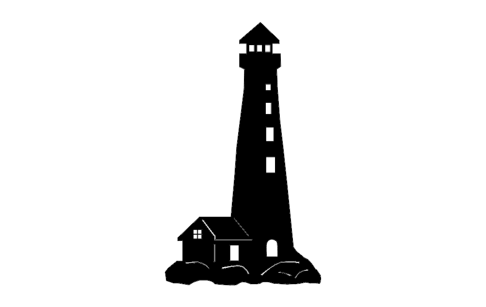 Lighthouse dxf File