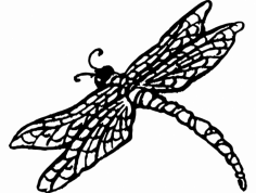 Dragonnfly dxf File