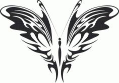 Butterfly Vector Art 026