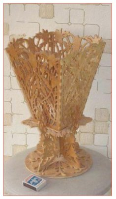 Vase Scroll Saw Plans PDF File