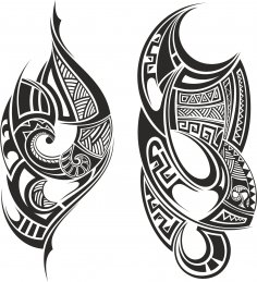 Tribal Tattoo Free Vector