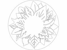 листья 250 dxf File