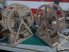 Ferris Wheel dxf File
