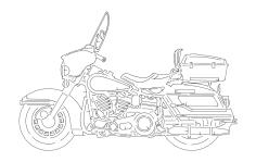 Harley dxf File