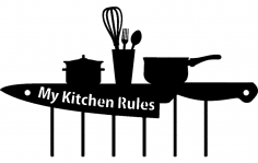 Kitchen dxf File