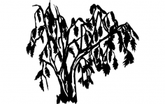 Willow Tree dxf File