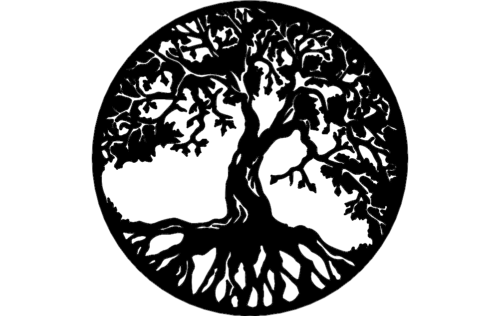 Tree Of Life Dxf File Free Download 3axis Co