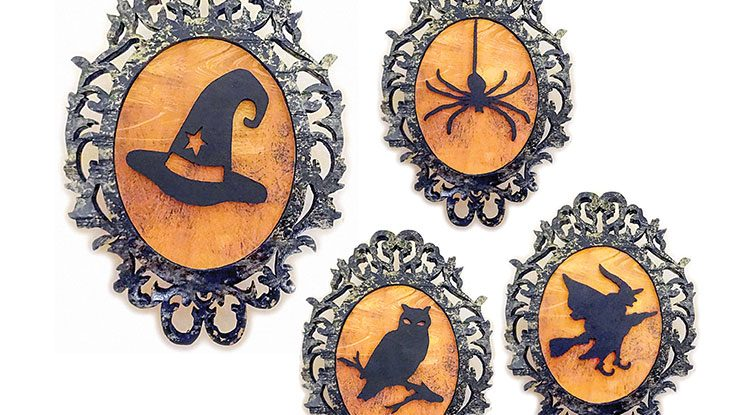 Halloween Plaques Patterns PDF File