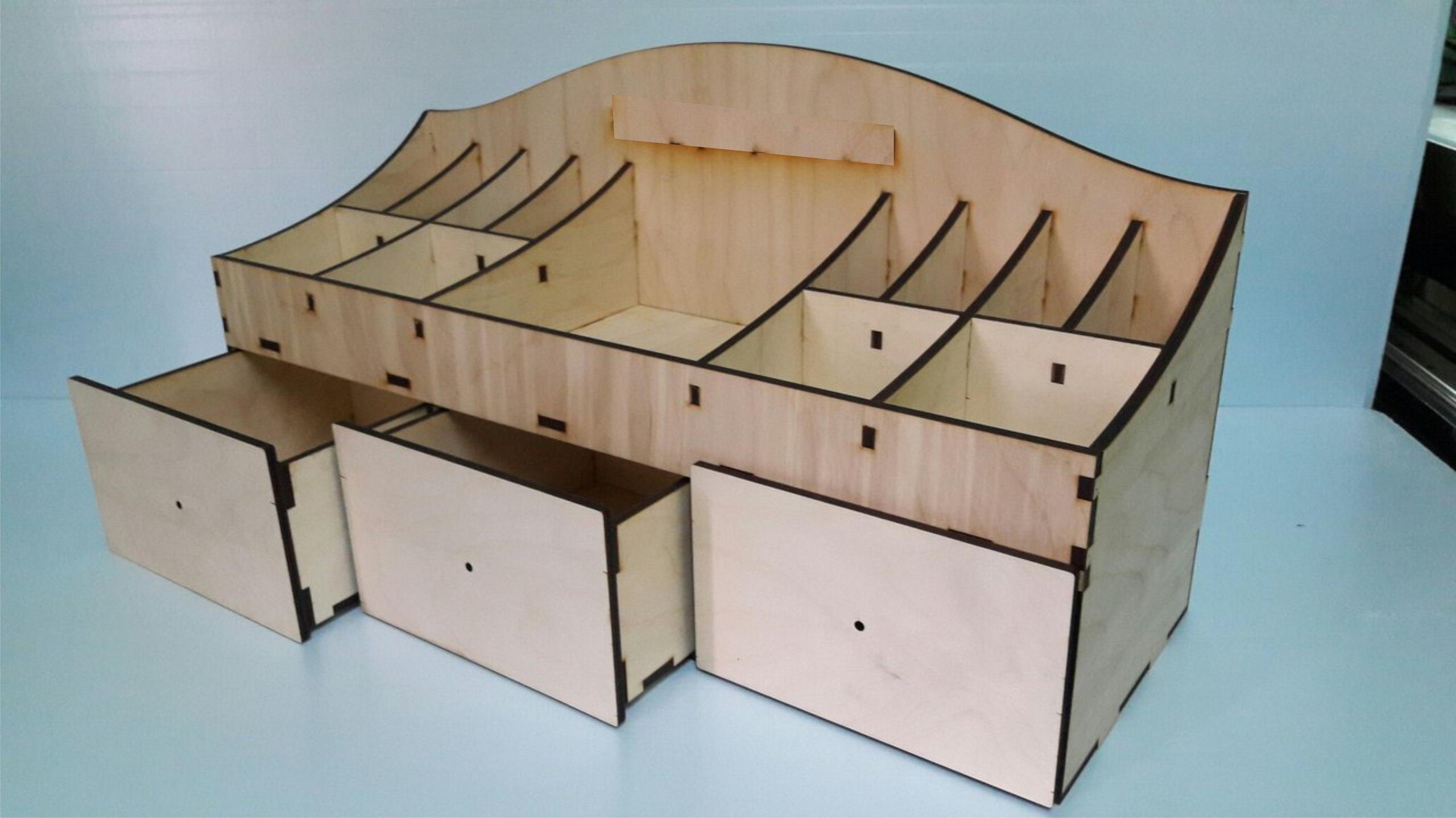 Large Desk Organizer Free Vector