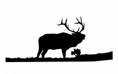 Moose 6 dxf File