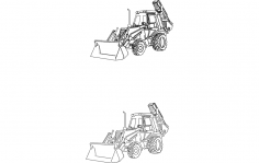 Heavy Equipment dxf File