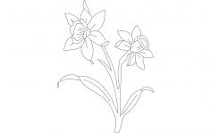Daf Flower dxf File
