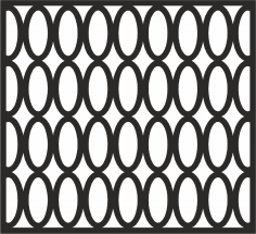 Seamless Curved Shape Pattern Free Vector