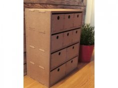 Small dresser, storage MDF 4MM 8MMDXF File