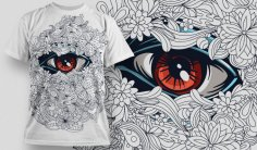 Designious Vector T-shirt Design 539 Free Vector