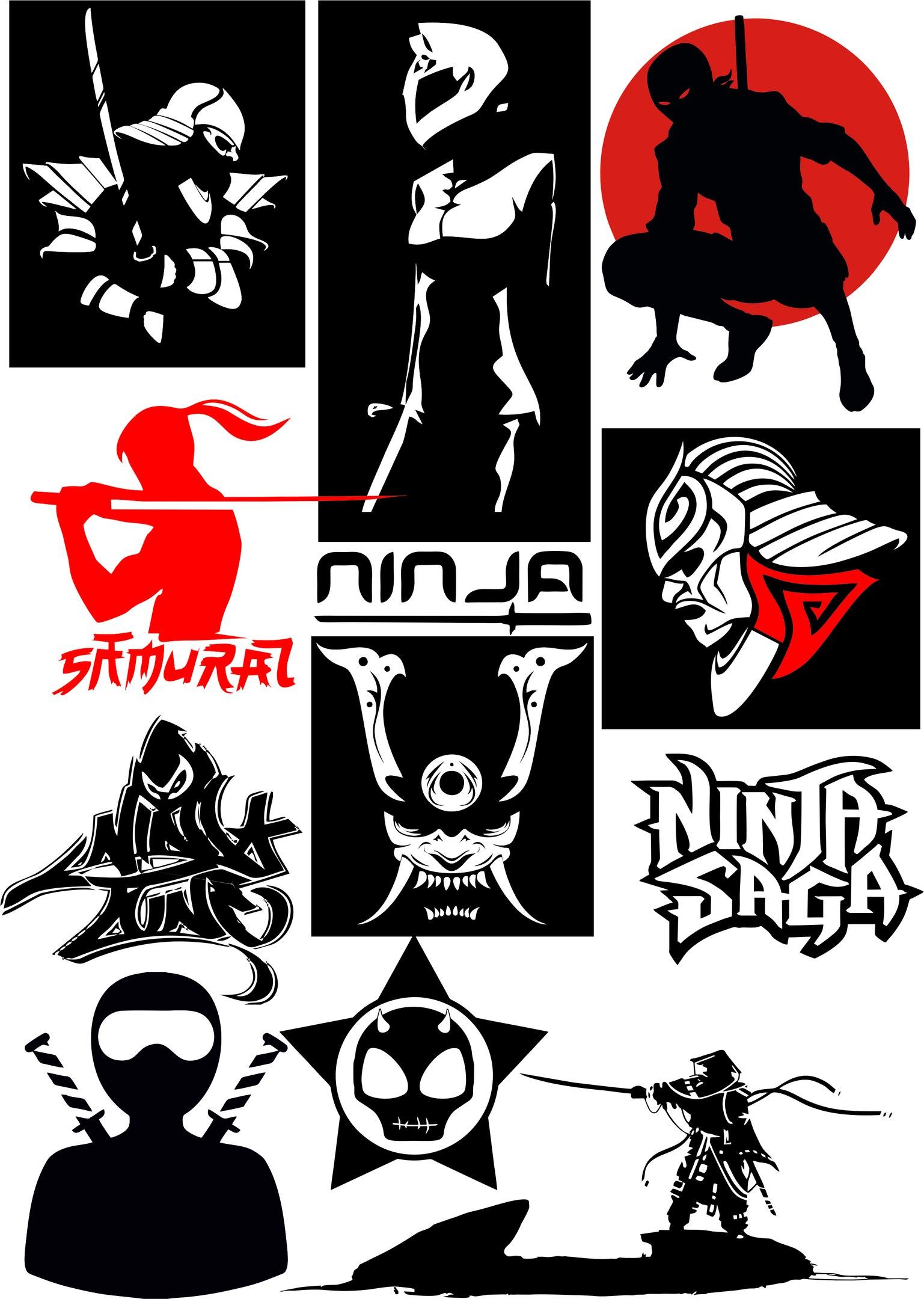 Ninja Vectors Art Pack