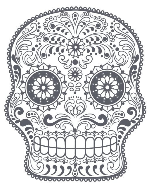 Sugar skull Free Vector