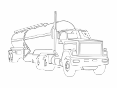 Tanker dxf File
