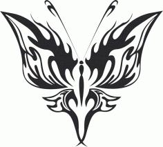 Butterfly Vector Art 021 Free Vector