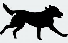 Labrador Retriever 00 1 dxf File