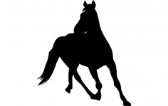 Horse 6 dxf File